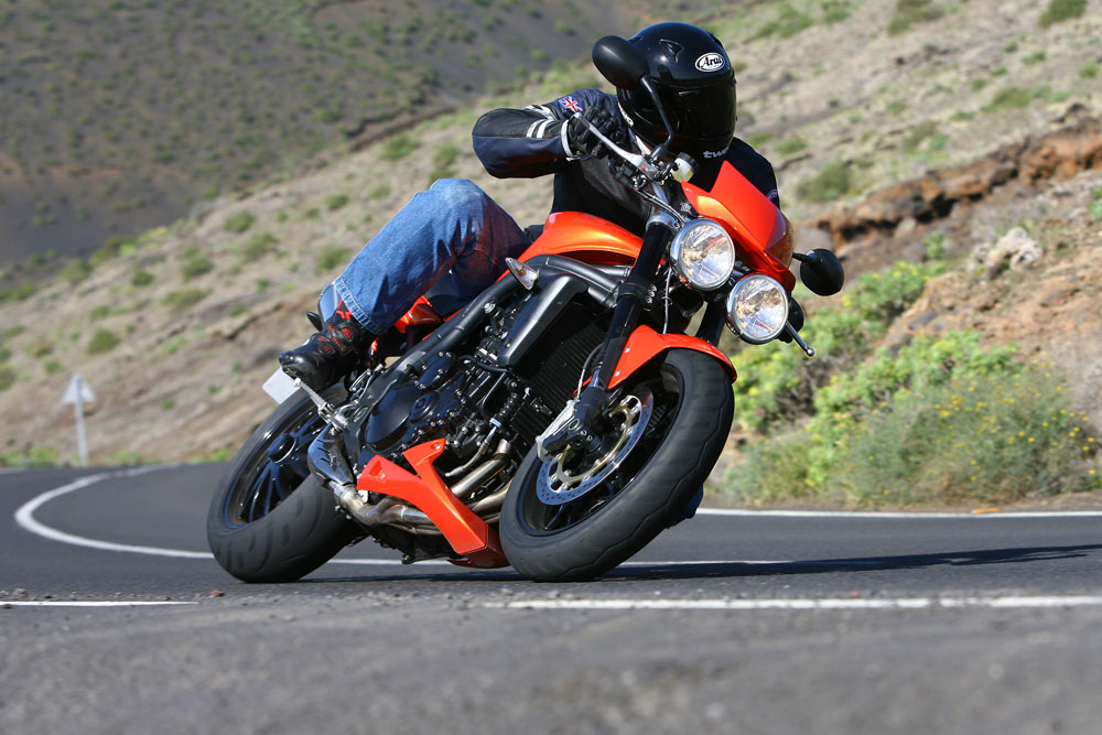 First Ride: 2008 Triumph Speed Triple