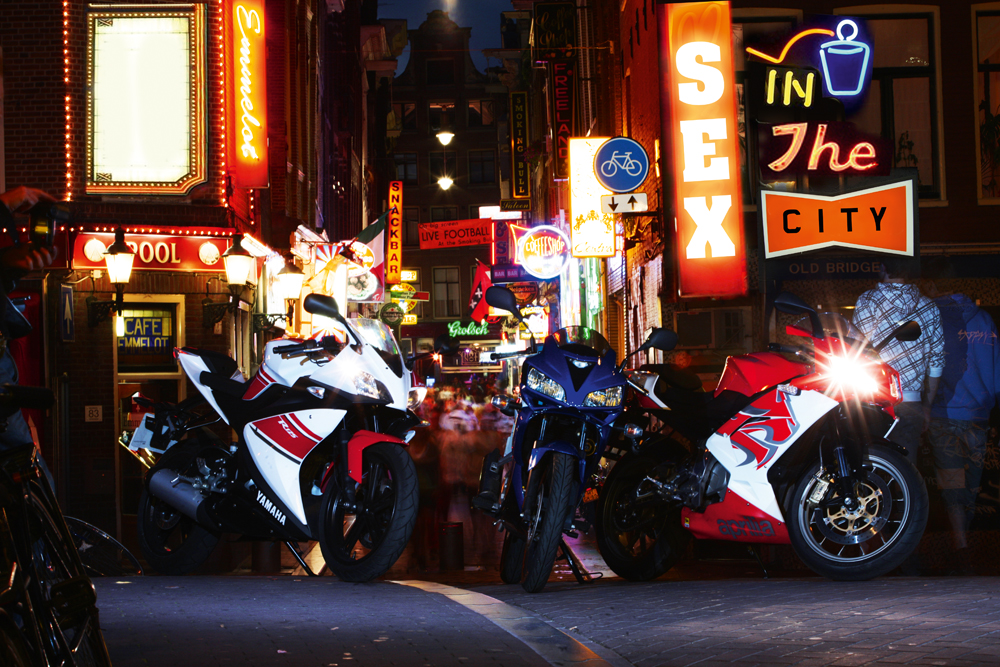 Sex In The City - 125cc sportsbike road test