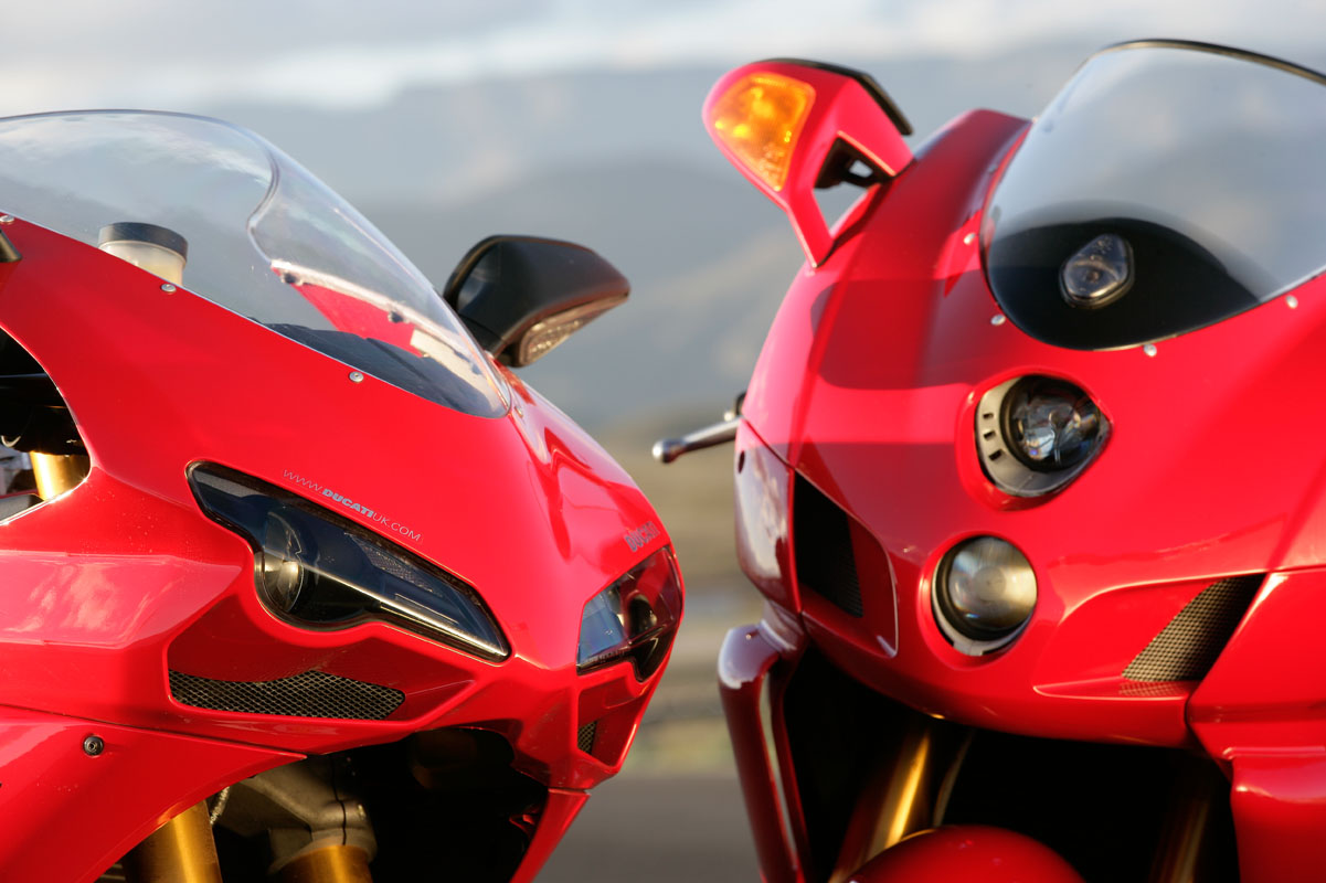 Road Test: Ducati 999s vs. 1098s
