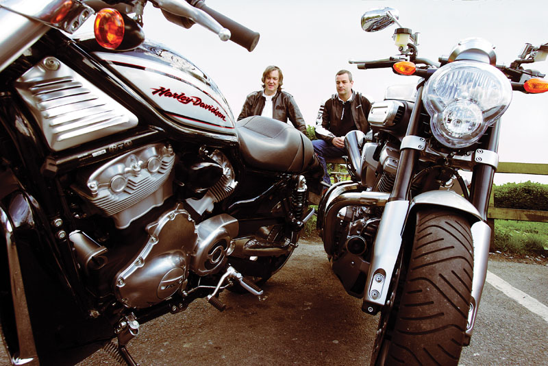 The Odd Couple: James May motorbike review