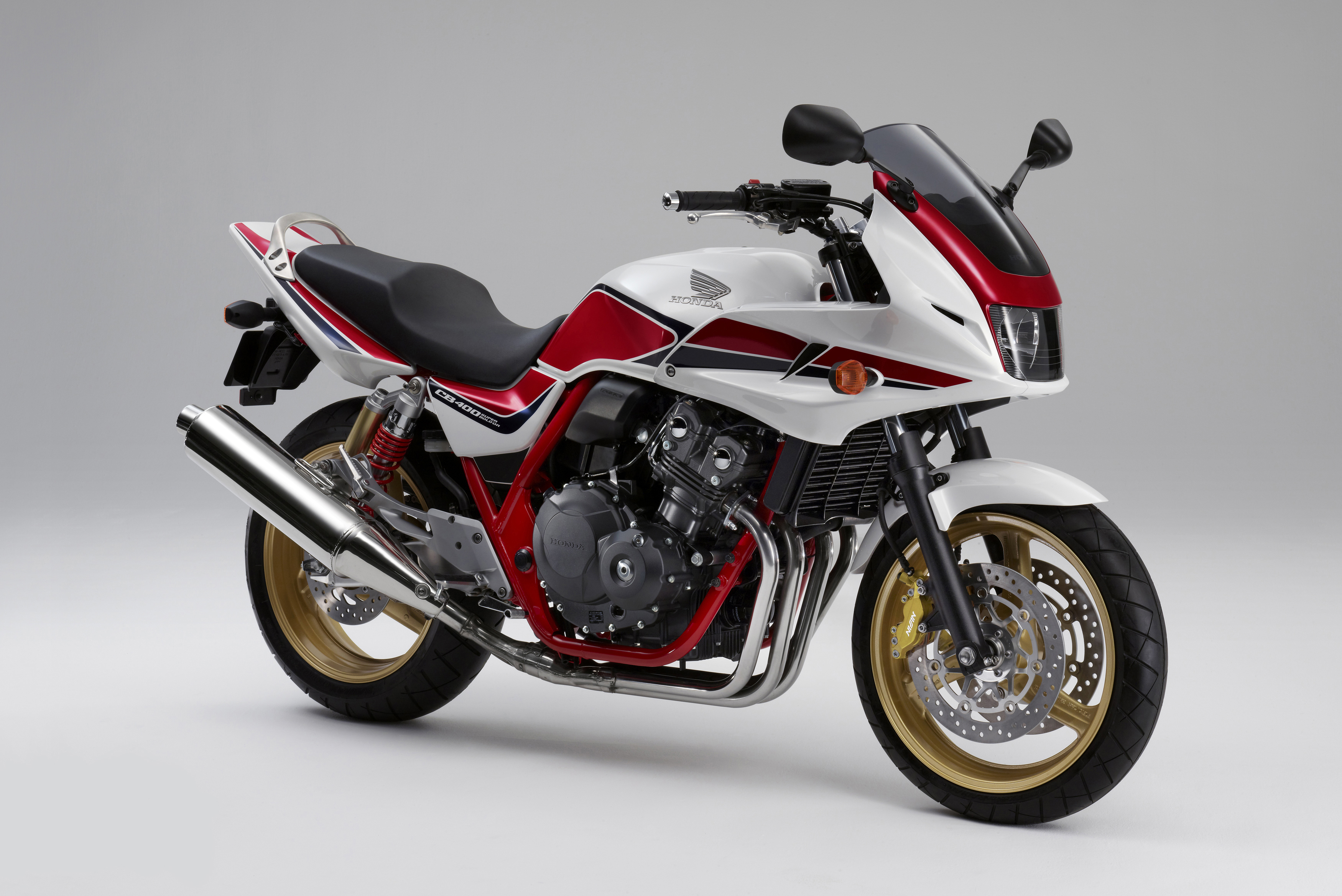 Honda Cb400 Super Four Special Edition Visordown