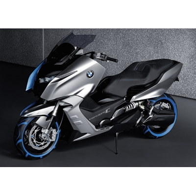 BMW scooter spied testing in Munich