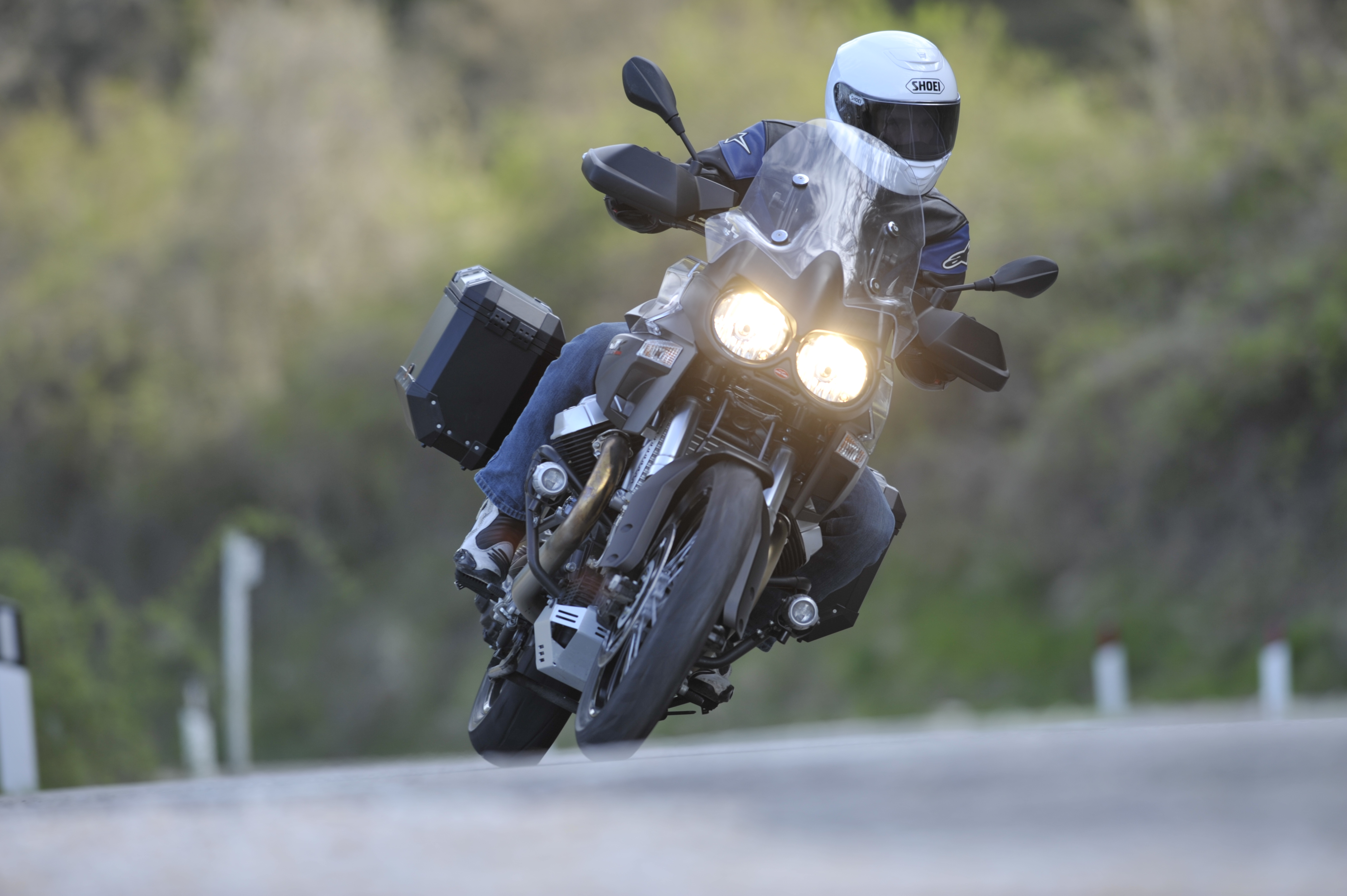First Ride: Moto Guzzi Stelvio 1200 8V and Stelvio NTX