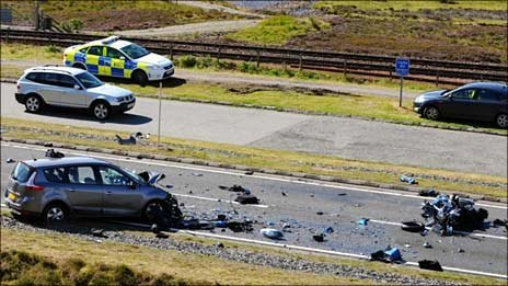 £3000 fine for killing two bikers
