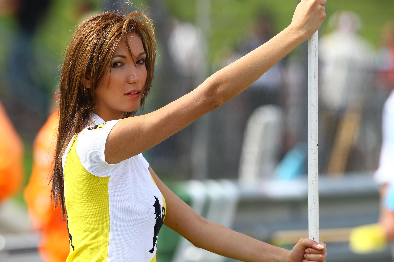MotoGP Grid Girl Gallery: Sachsenring 2011   Visordown