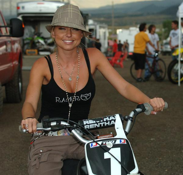 MotoGP: Ben Spies' girlfriend Leticia Cline | Visordown