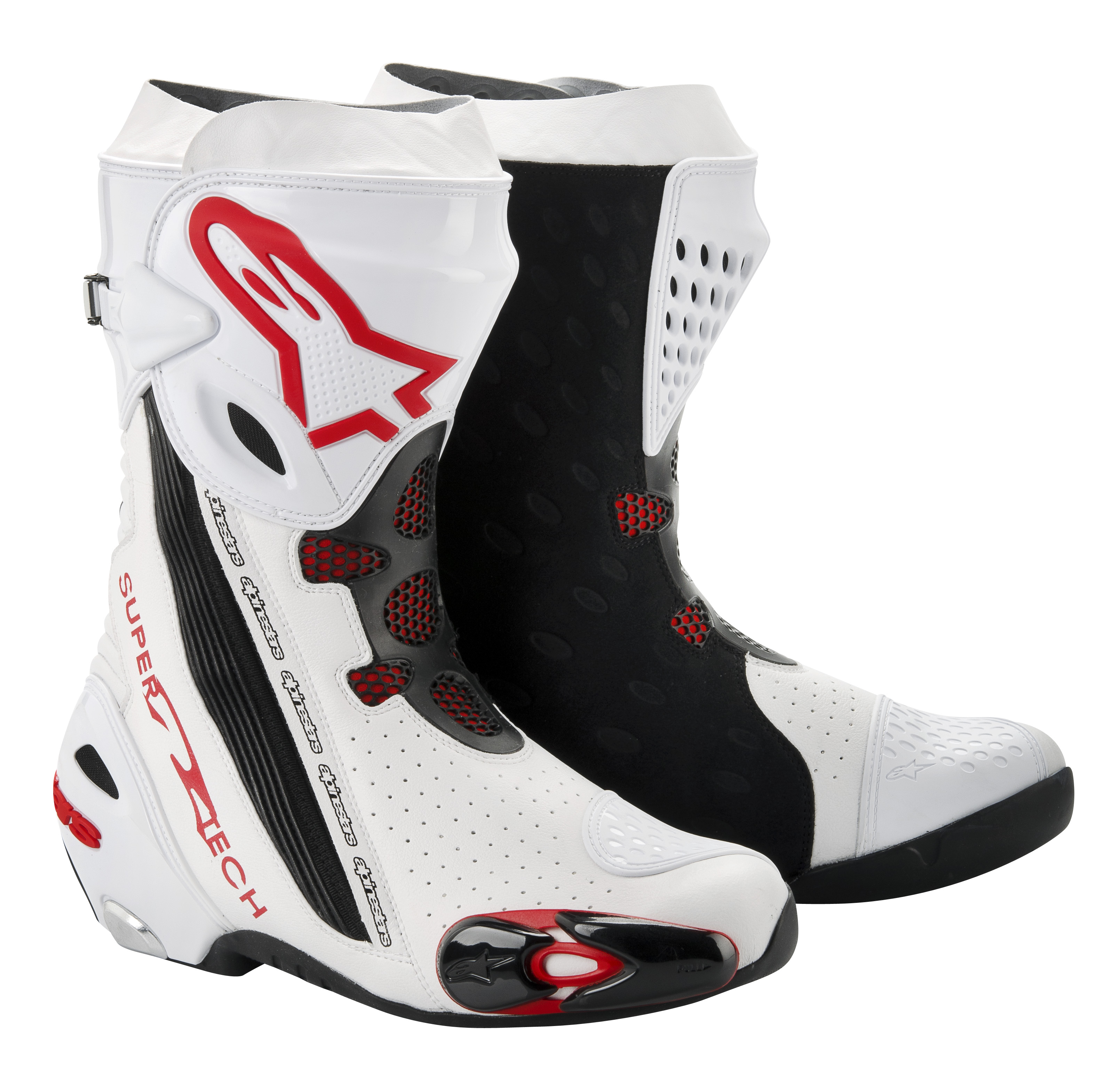 new alpinestars supertech r boots visordown. Black Bedroom Furniture Sets. Home Design Ideas