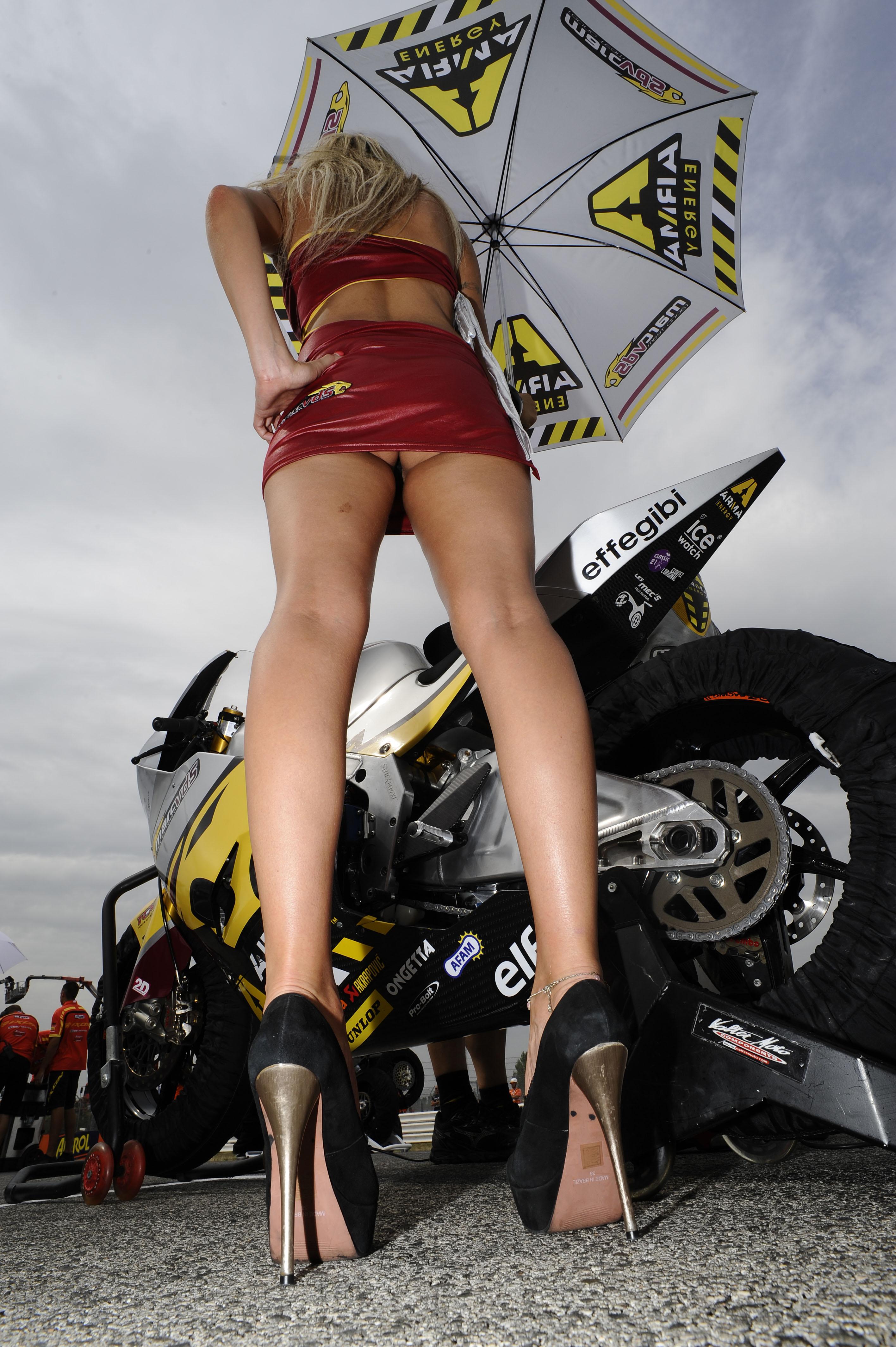 Hot monster racing girls naked — pic 9