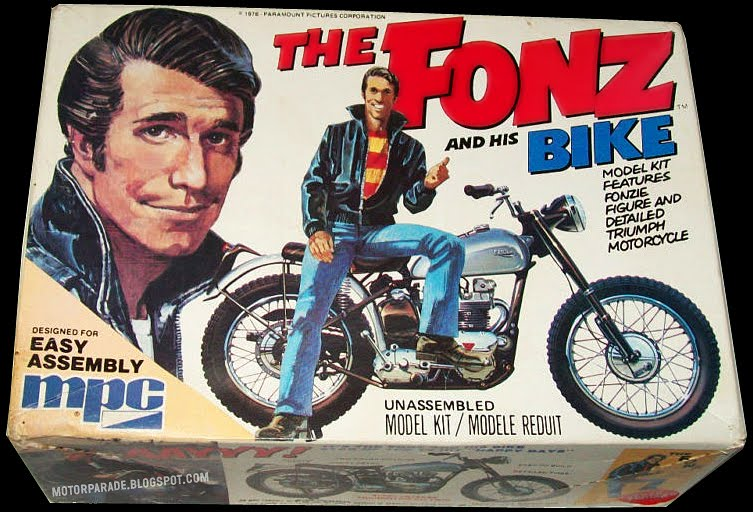 Heyyyy! The Fonz's Triumph goes to auction | Visordown