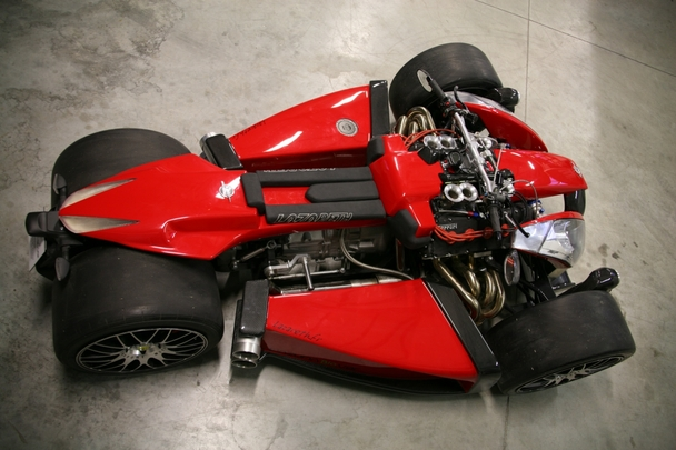 R1 styling + Ferrari V8 x Lazareth