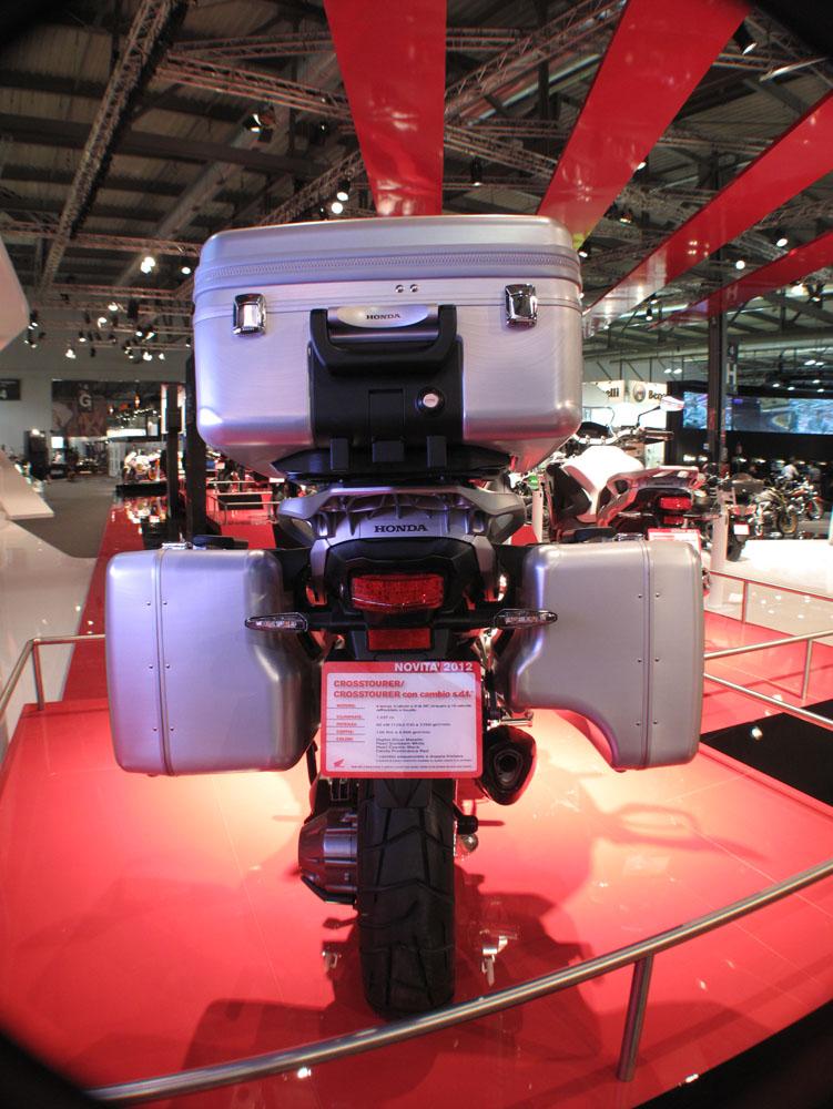 Milan: 2012 Honda VFR1200X Crosstourer | Visordown
