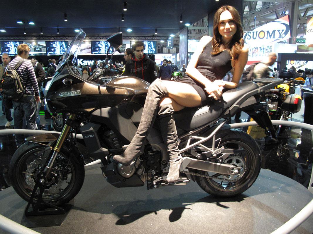 Milan 2012 Kawasaki Versys 1000 Visordown
