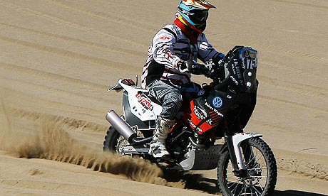 Dakar rider dies on opening day
