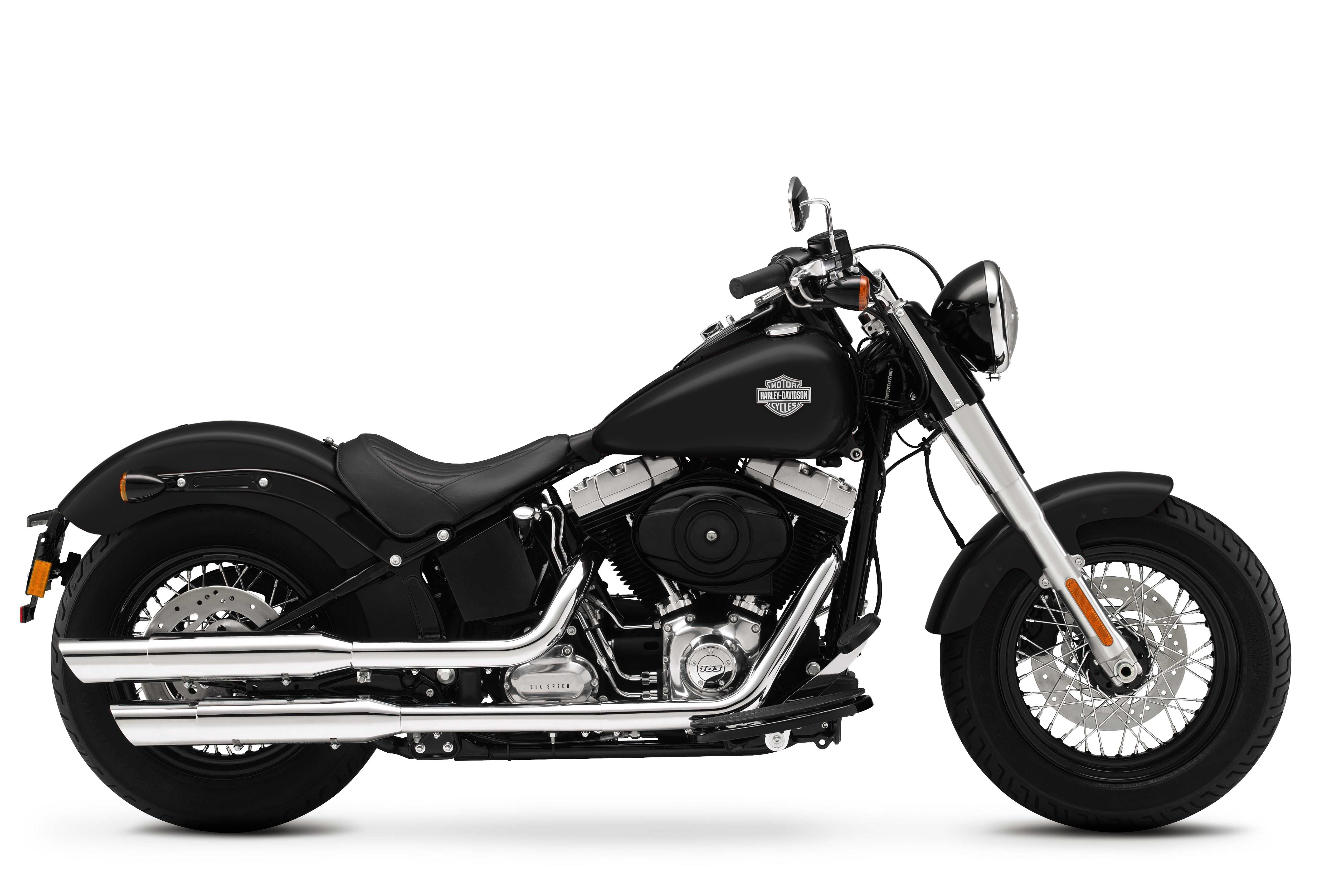 Harley Davidson Softail Slim Visordown