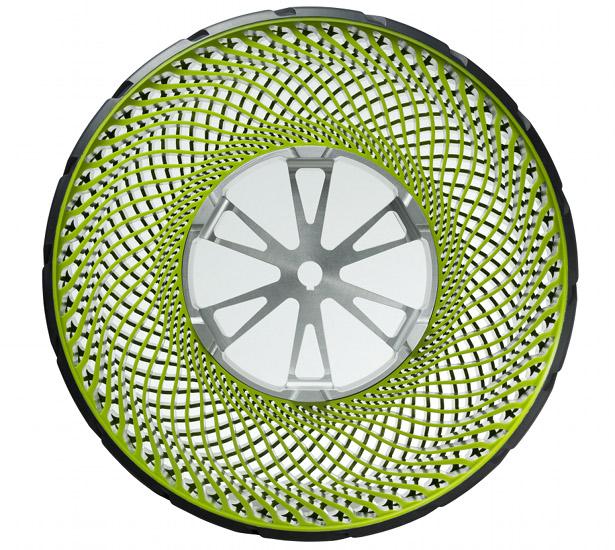 Bridgestone develop airless tyre