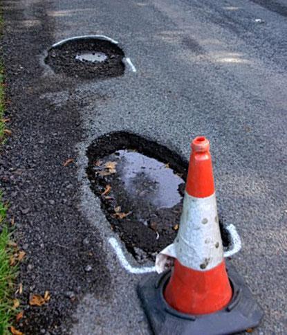 UK's pothole crisis deepens