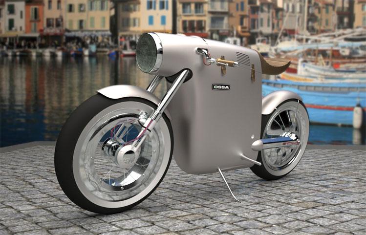 60 S Styled Electric Concept Bike Visordown