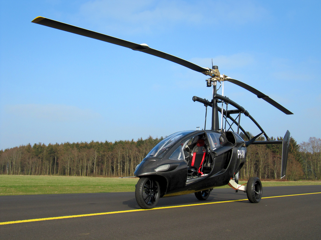 Flying bike/car/helicopter/thing...