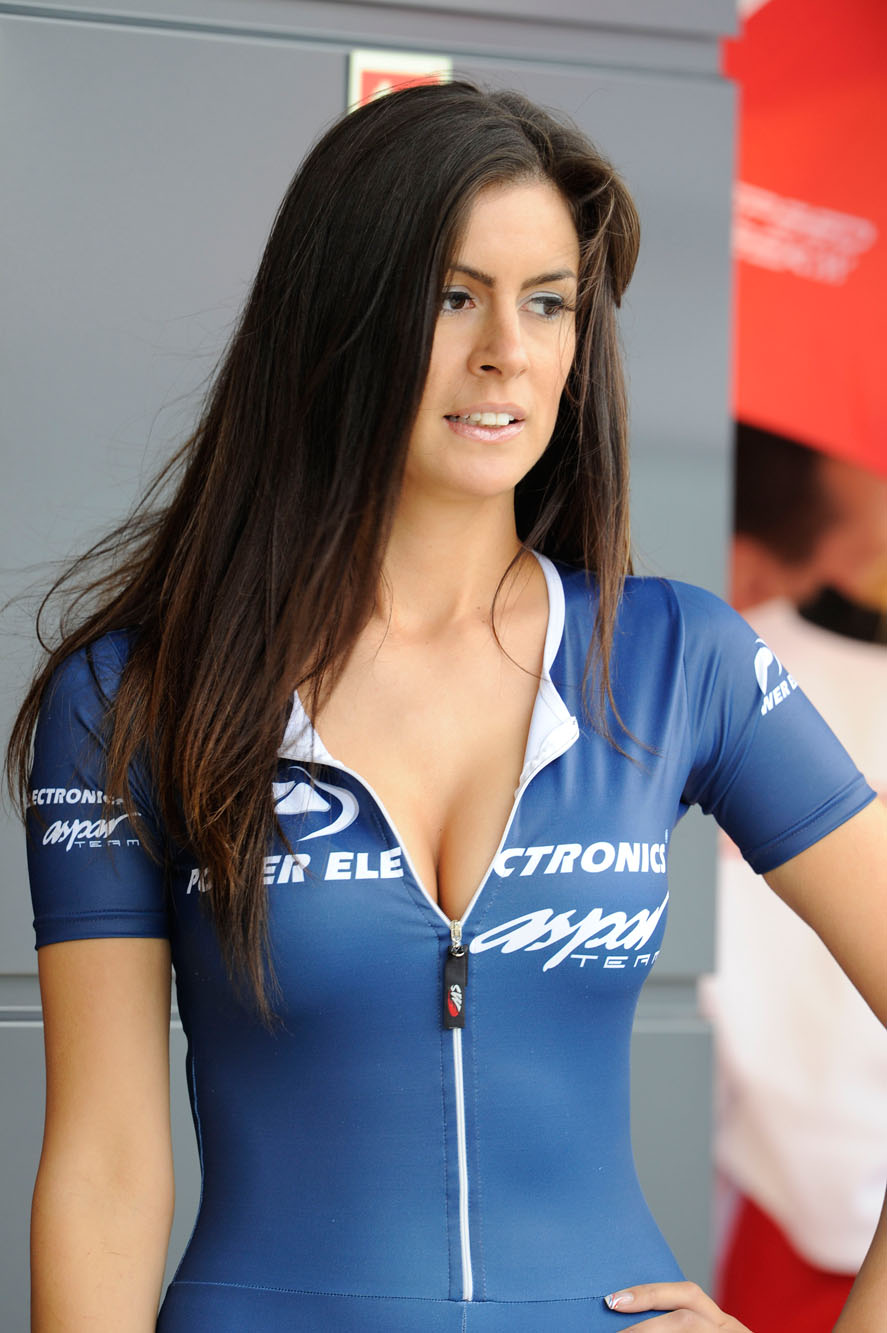 MotoGP Grid Girl Gallery: Silverstone 2012 | Visordown