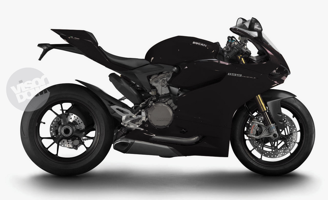 ducati 39 s 1199 panigale coloured visordown. Black Bedroom Furniture Sets. Home Design Ideas