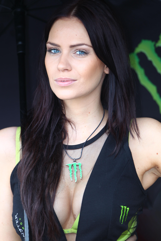 Grid girl , Moto 1000 GP championship at