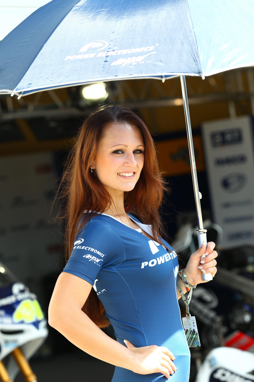 MotoGP Grid Girl Pictures: Sachsenring 2012 | Visordown