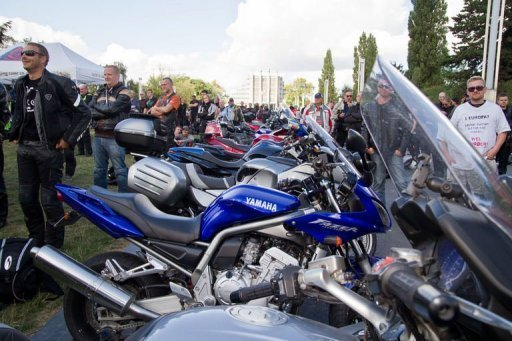 European bikers protest EU proposal
