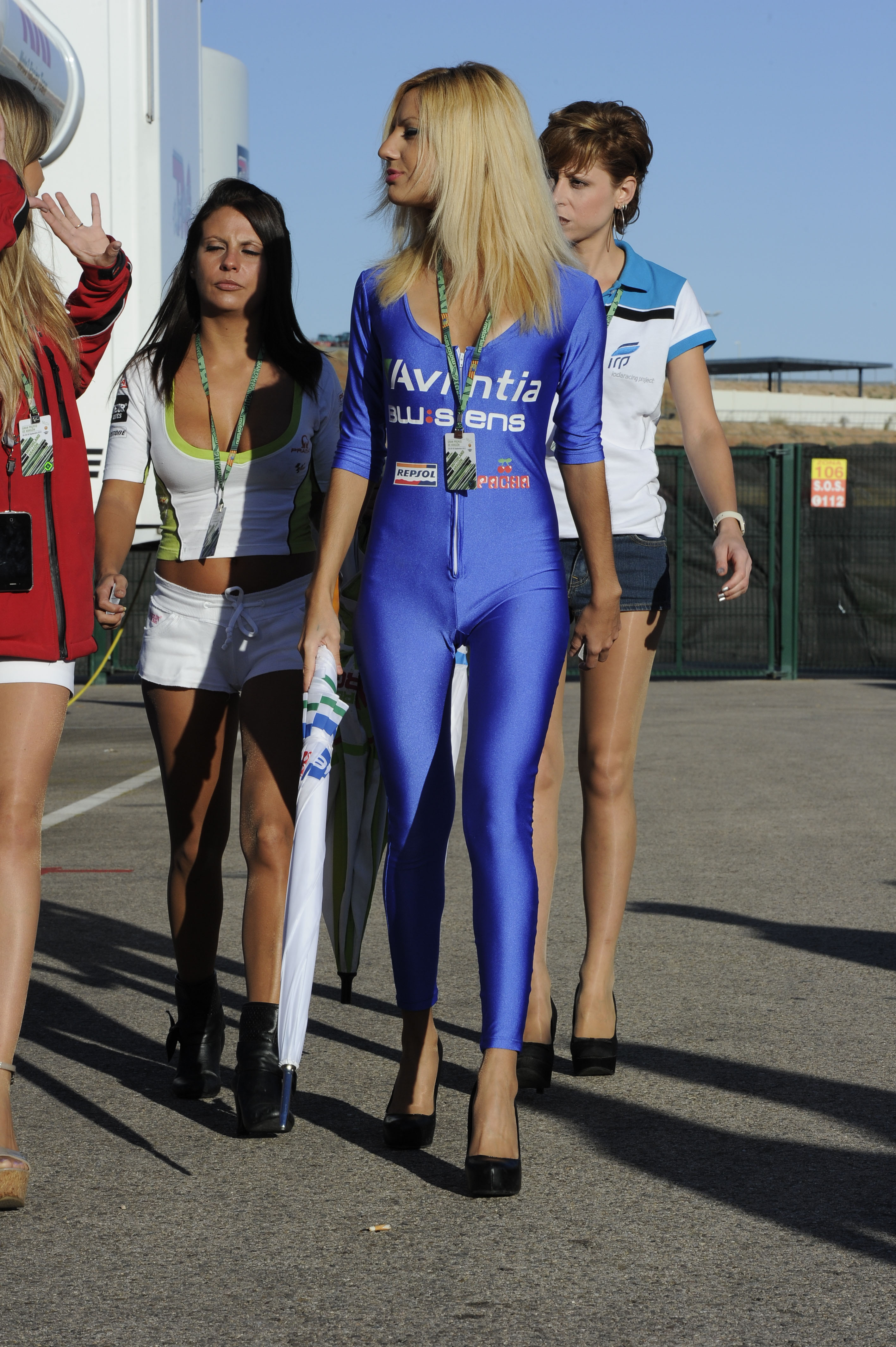 Motogp Grid Girl Gallery Aragon 2012 Visordown