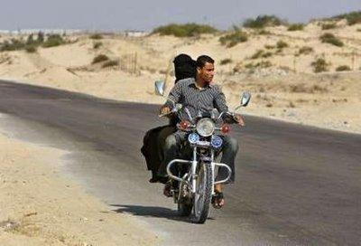 Gaza City cracks down on motorcycles