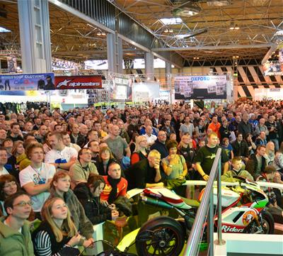 Motorcycle Live starts tomorrow