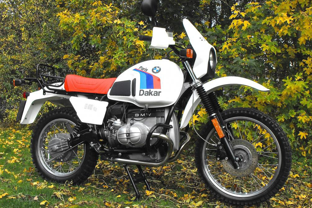 1983 Bmw R80g S Dakar Visordown