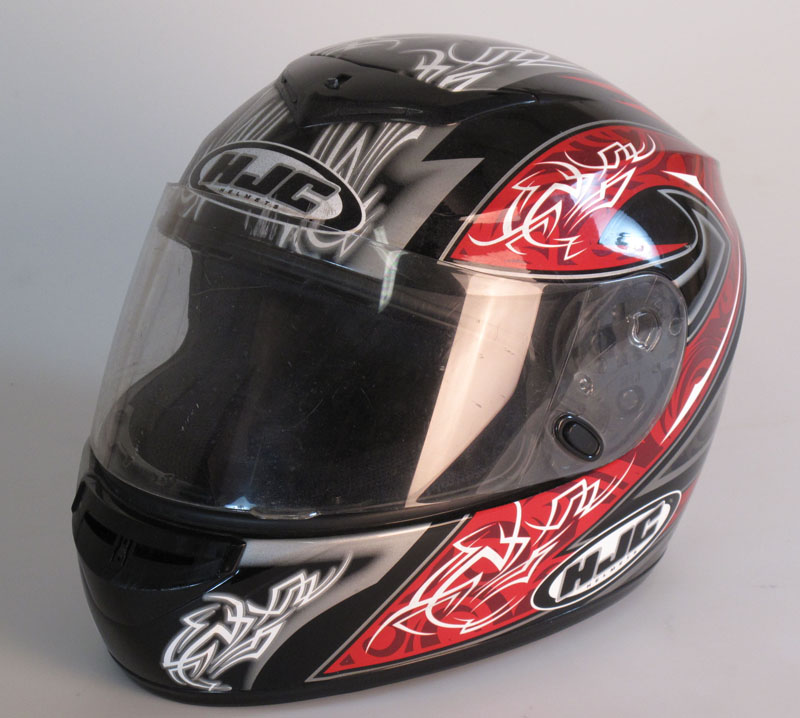 Used: HJC CL-ST Throttle helmet