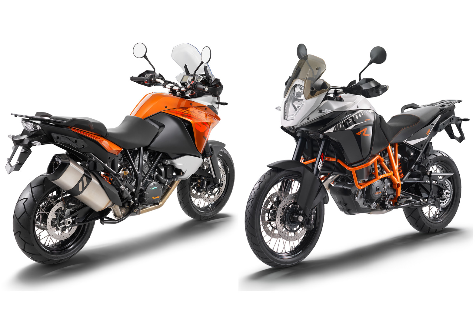 Differences: KTM 1190 Adventure vs. Adventure R