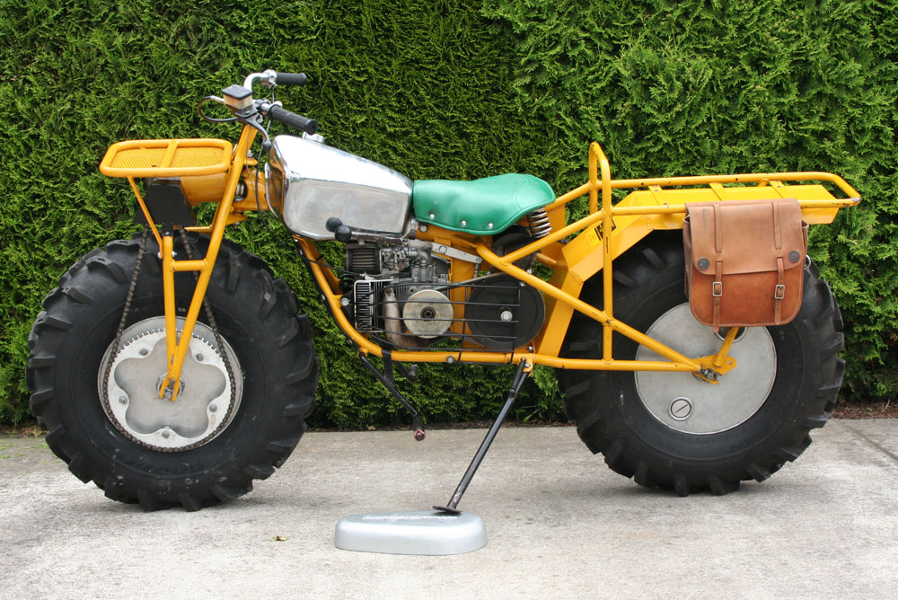 Top 10 - the least conventional production motorcycles
