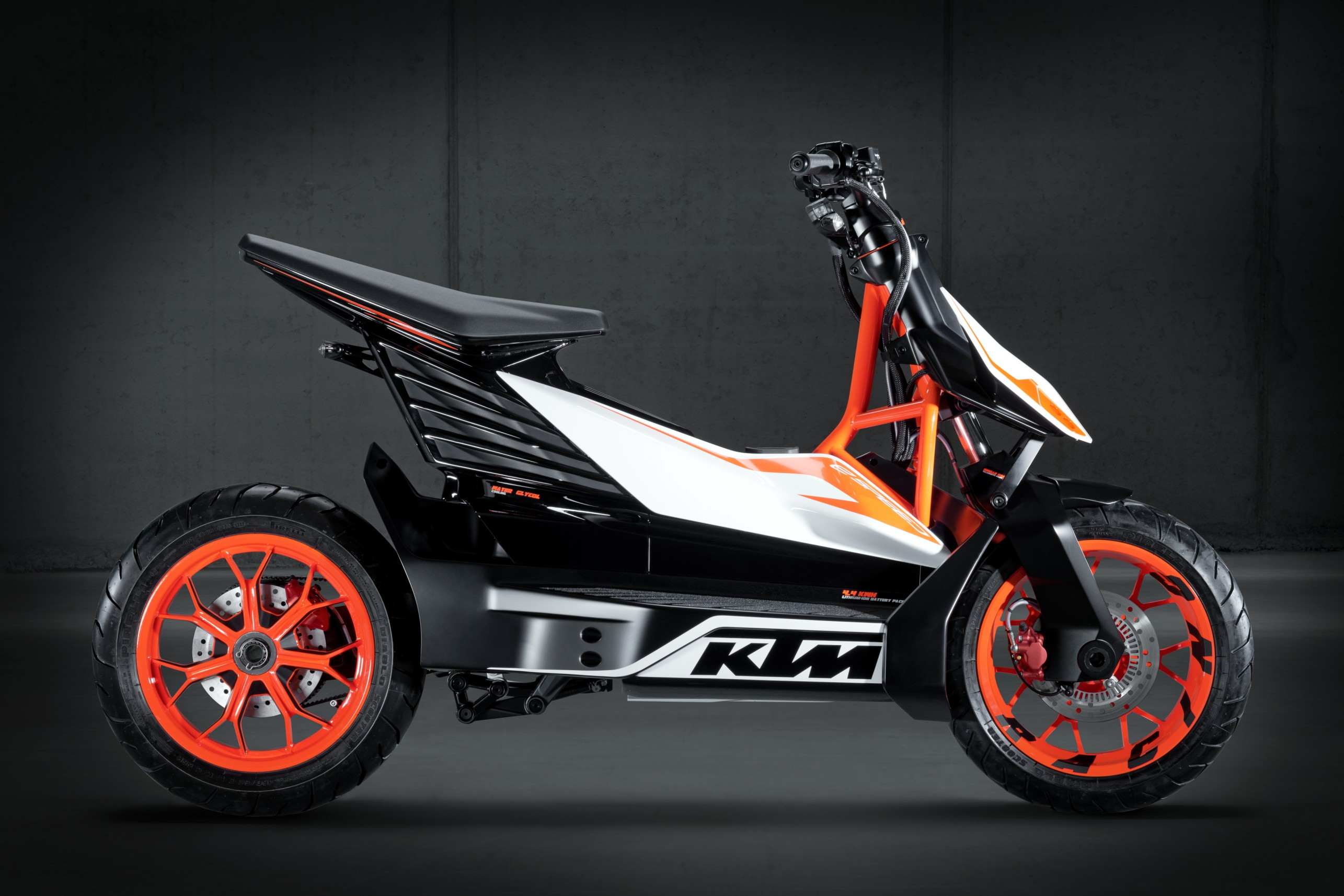 KTM's concept electric scooter