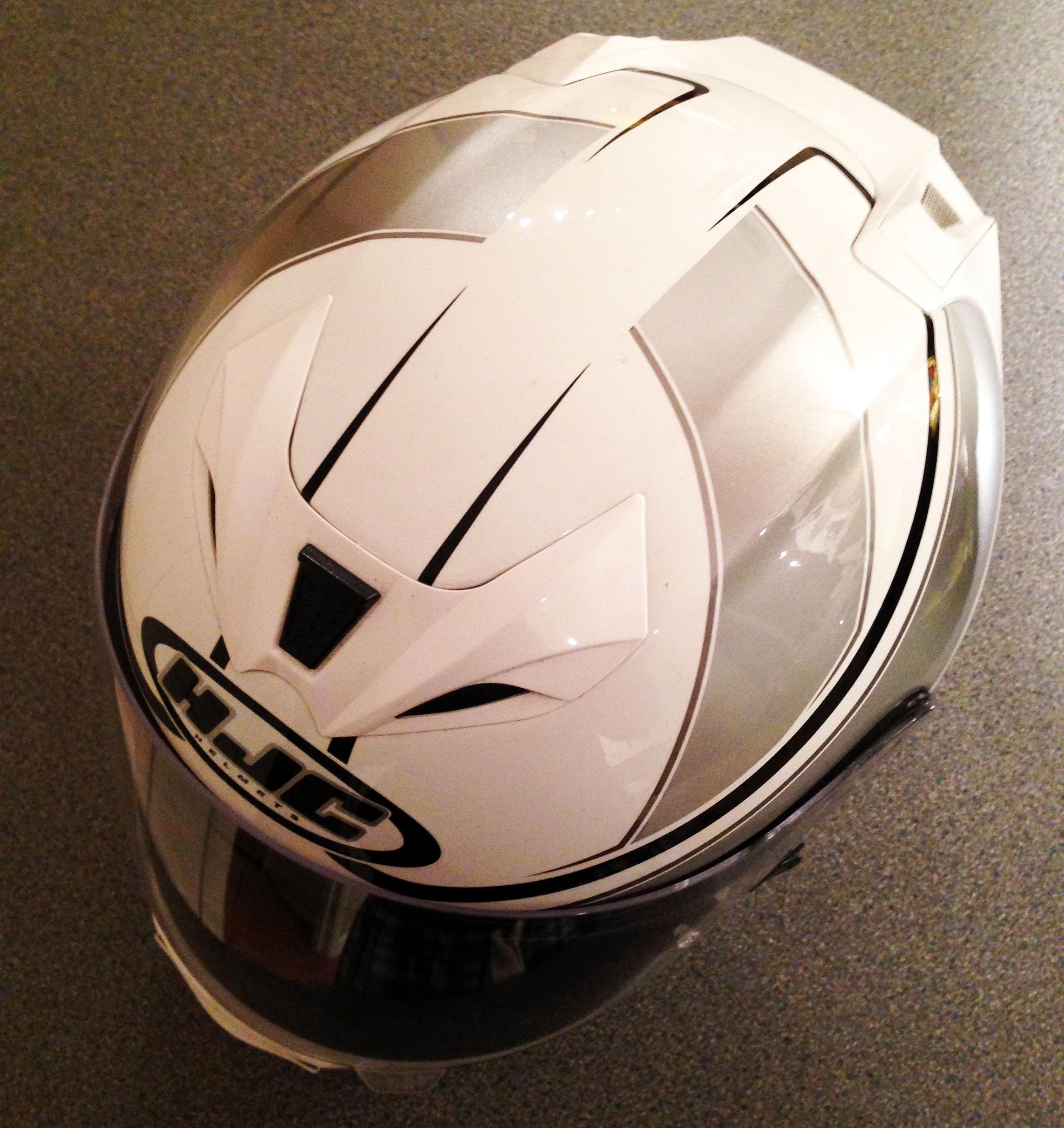 Used: HJC FG-15 helmet