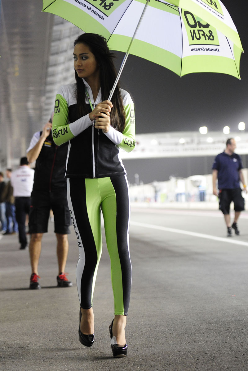 MotoGP grid girl pictures Qatar 2013 | Visordown
