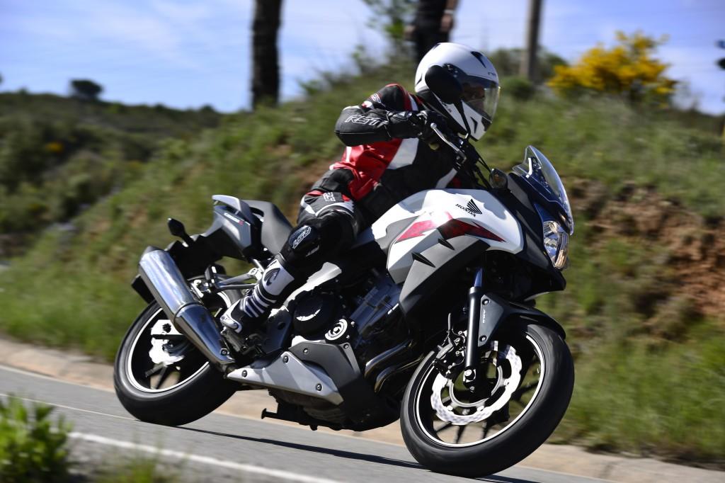 First ride: 2013 Honda CB500X review | Visordown