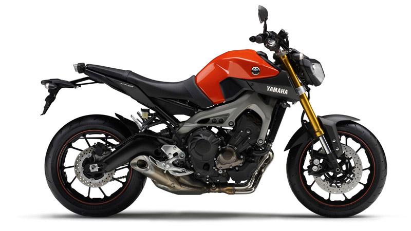 Yamaha MT-09 triple revealed