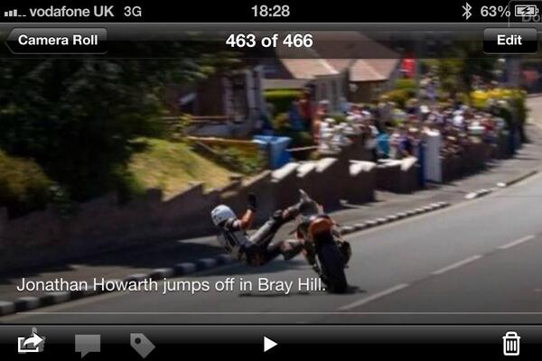 Jonathan Howarth's Bray Hill crash