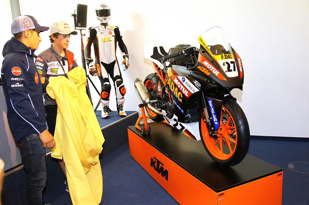 KTM's new RC390