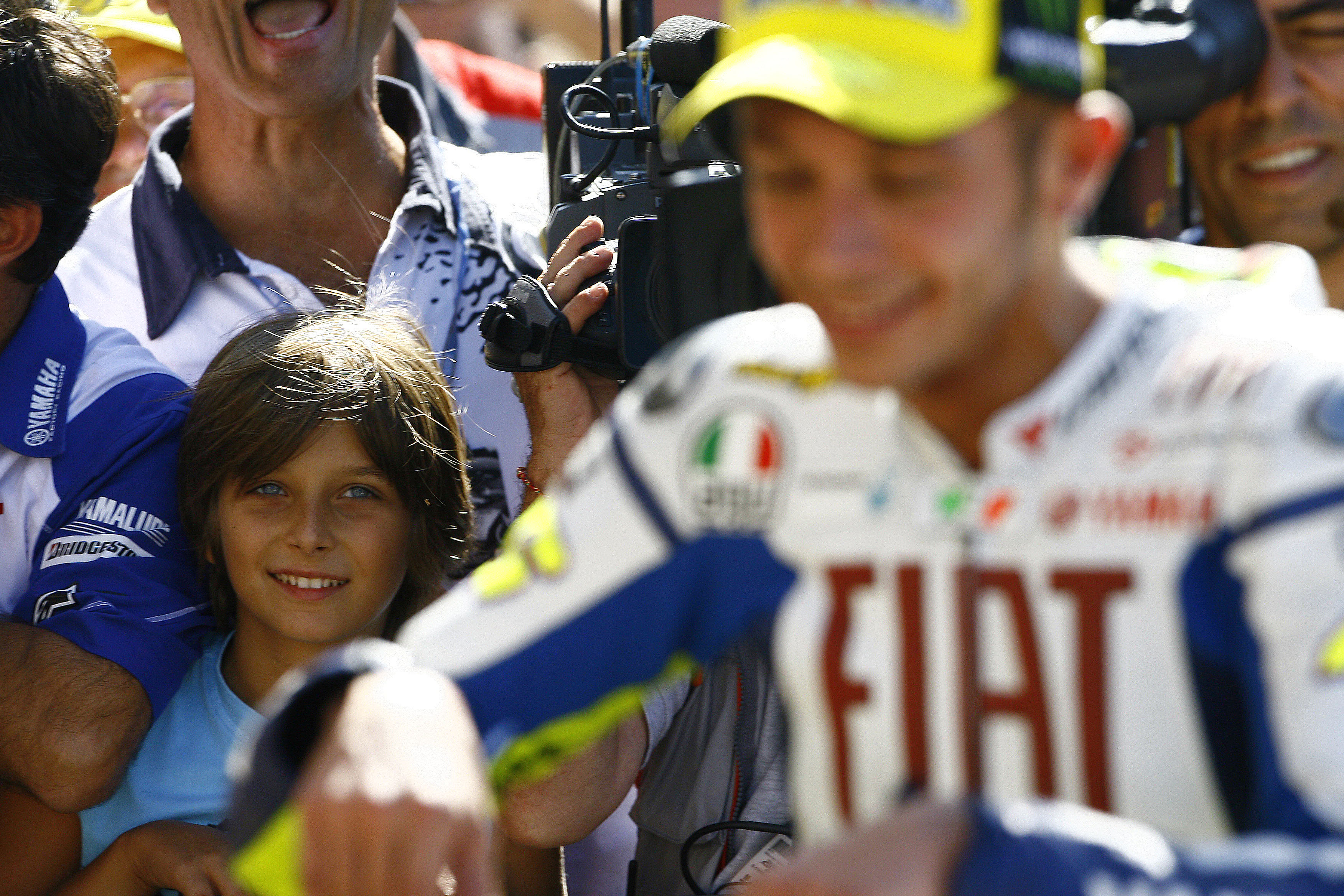 Rossi's half-brother to wildcard at Misano