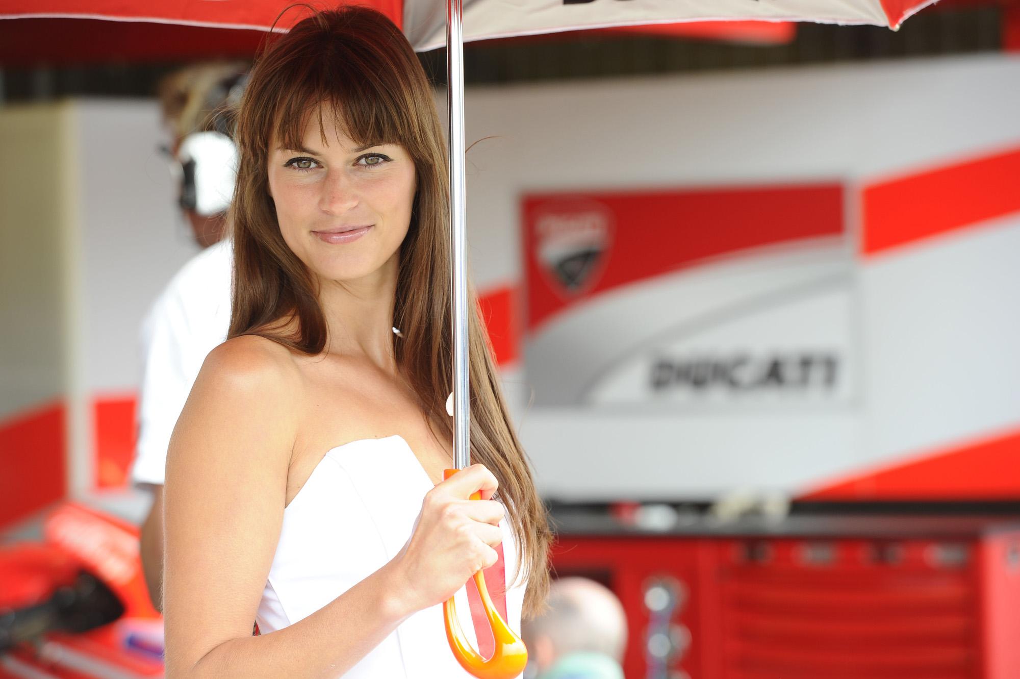 MotoGP Czech Republic Paddock girls 2013 | Visordown
