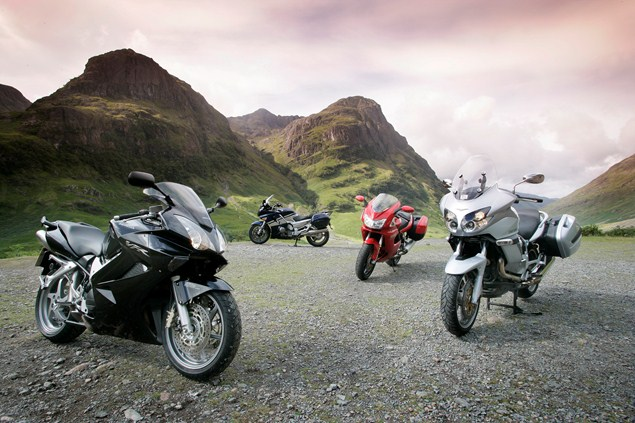 The best motorcycle roads for miles