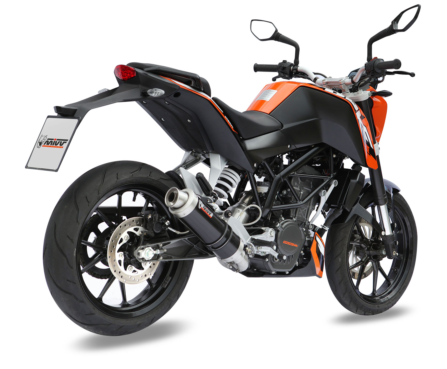 New: MIVV exhausts for KTM Duke 125 and 200