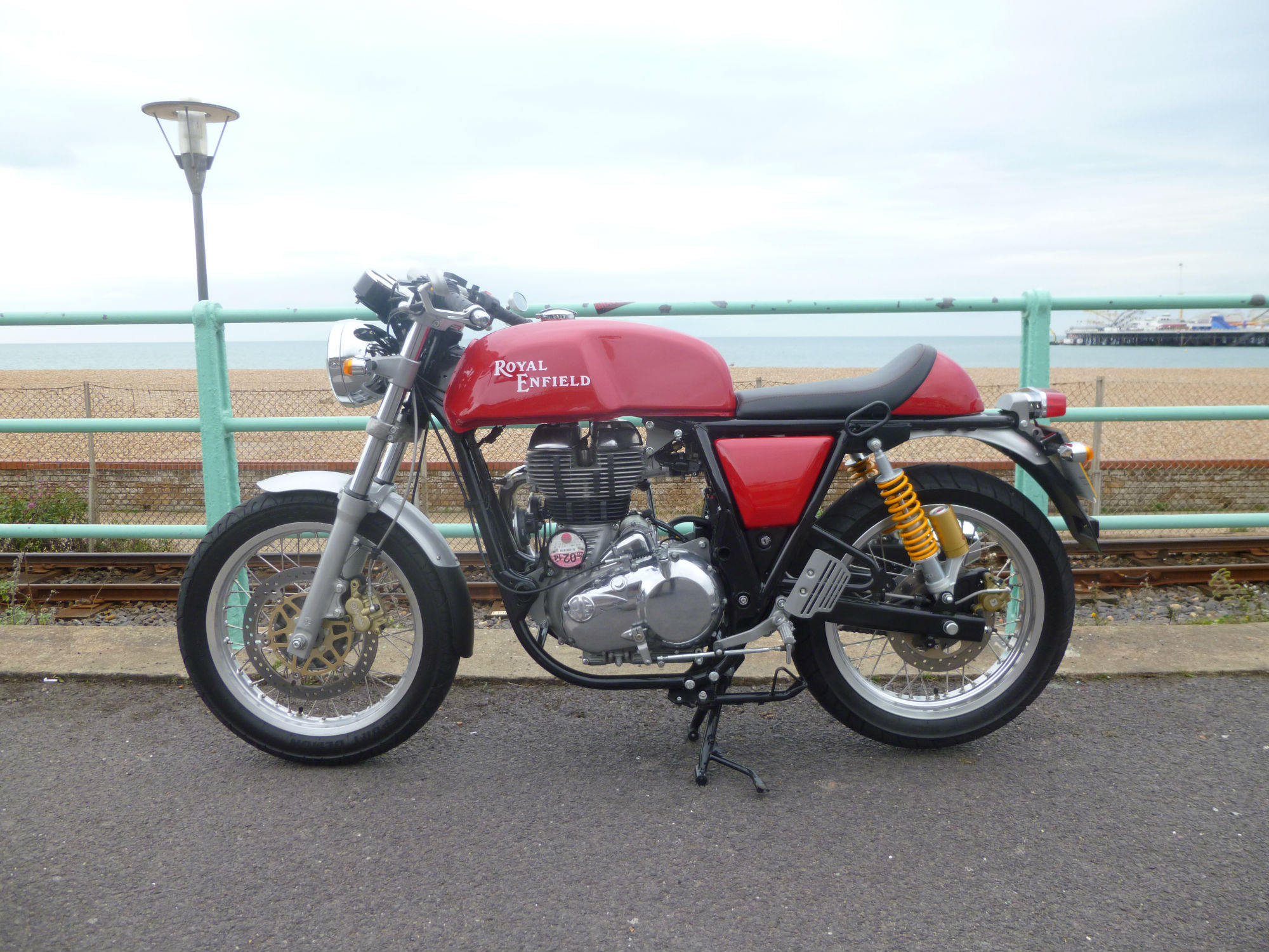 First ride: Royal Enfield Continental GT review