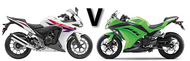 Versus: Honda CBR500R vs Kawasaki Ninja 300