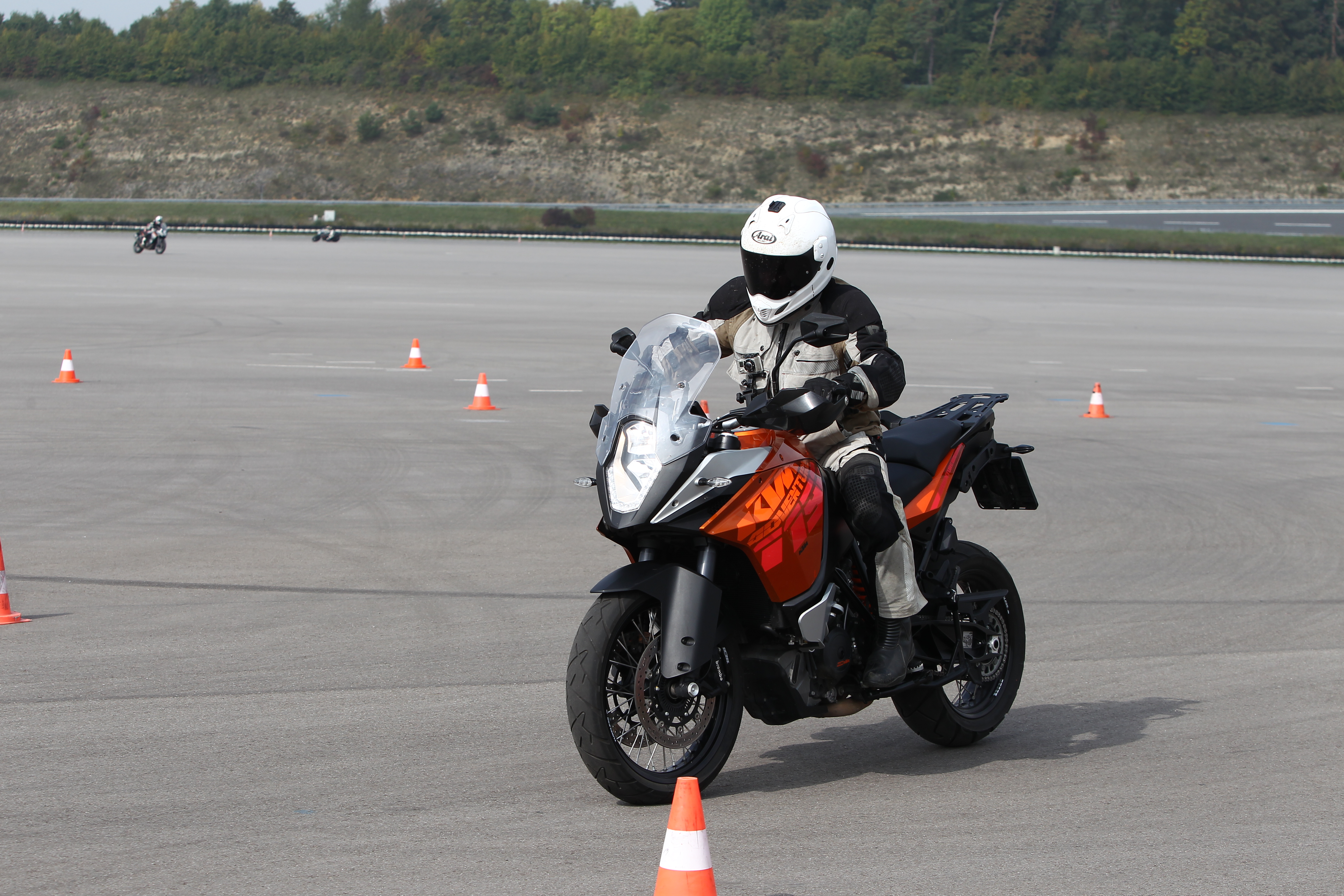 First Ride: KTM 1190 Adventure with cornering ABS