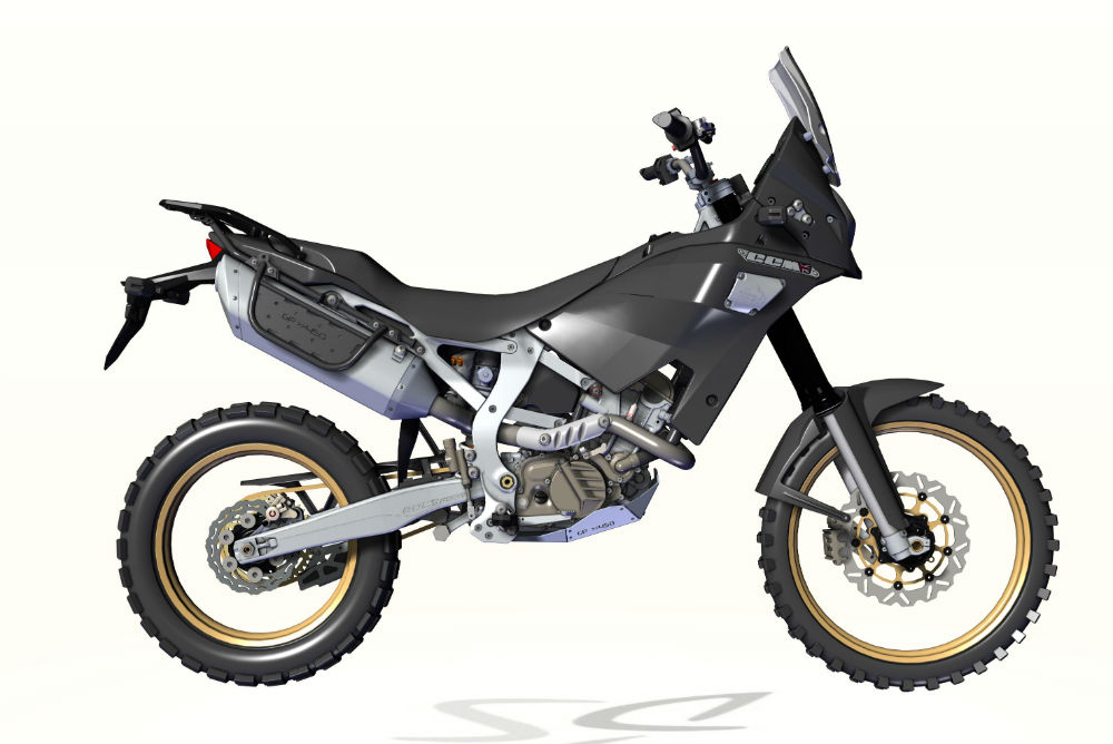 CCM's BMW-powered trailie