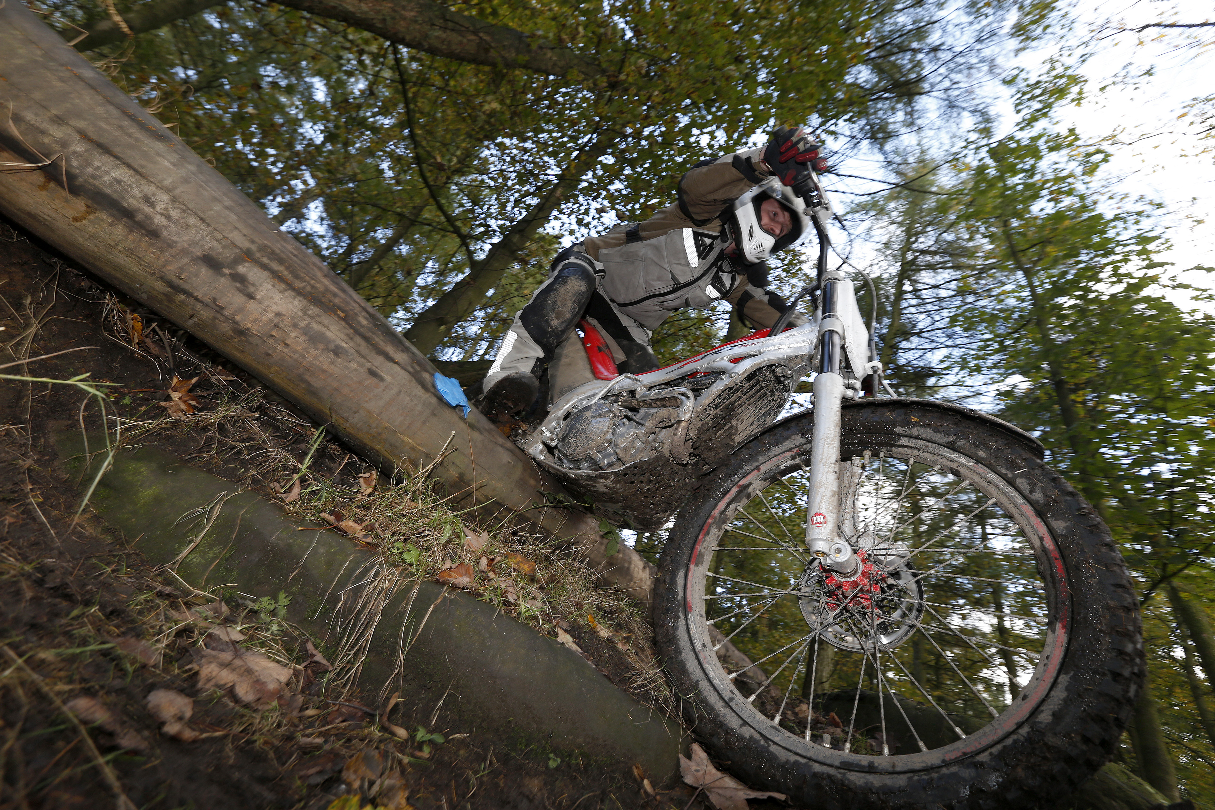 How not to ride a trials bike
